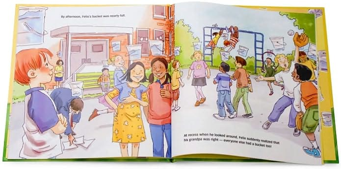 How Full Is Your Bucket? for Kids, sample pages