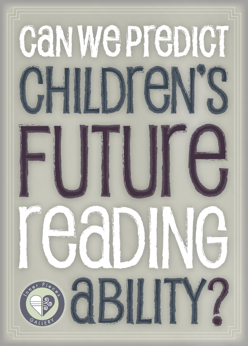 Can we predict children's future reading ability, even without a crystal ball? The research seems to think so. Learn what we're learning about learning, as well as what we can do to help students who struggle.