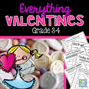 Everything Valentines Grade 3-4 from Can't Stop Smiling