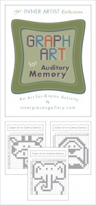 This Art-for-Brains Activity helps kids build auditory memory, listening skills and more. Great tool for teachers, parents, and learning specialists.