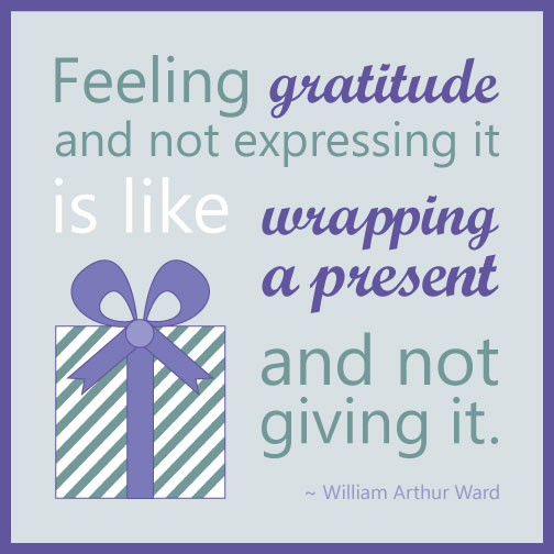 Gratitude Quote William Arthur Ward