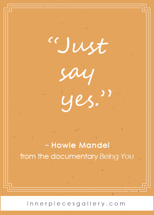 Howie Mandel quote from the documentary Being You. If you or your child live with learning difficulties (a.k.a. learning disabilities, learning struggles, learning challenges, dyslexia, dysgraphia, dyscalculia, spd, apd, etc. etc.) and wish there were a bit more hope and encouragement out there, this film will lift you up. Watch it as a family, then discuss and learn from each other. It's well worth your time, approximately 1 hour.
