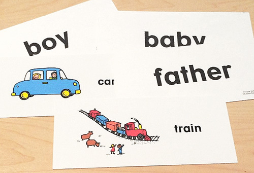Using sight words cards in centers or stations.