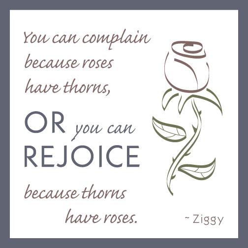 Ziggy quote on optimism