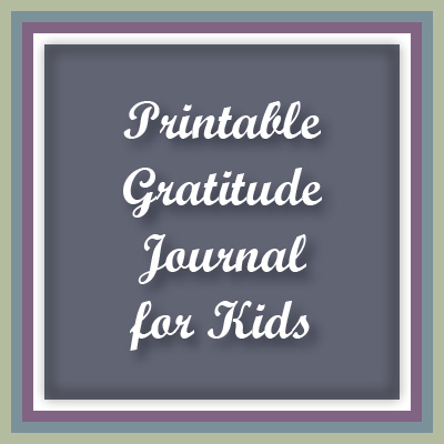 A top blog post at Inner Pieces Gallery: Printable Gratitude Journal for Kids