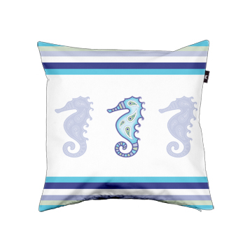 Seahorse Moxie Pillow Cover