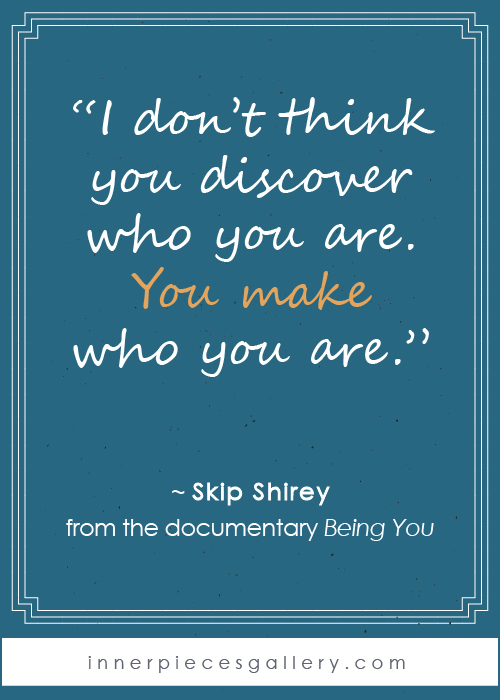Skip Shirey quote from the documentary Being You. If you or your child live with learning difficulties (a.k.a. learning disabilities, learning struggles, learning challenges, dyslexia, dysgraphia, dyscalculia, spd, apd, etc. etc.) and wish there were a bit more hope and encouragement out there, this film will lift you up. Watch it as a family, then discuss and learn from each other. It's well worth your time, approximately 1 hour.