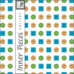 Visual Tracking Printable for Kids: Track the Smiley Faces