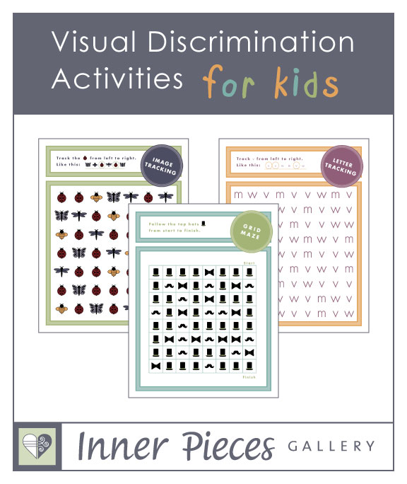 Visual Discrimination Activities For Kids Inner Pieces Gallery