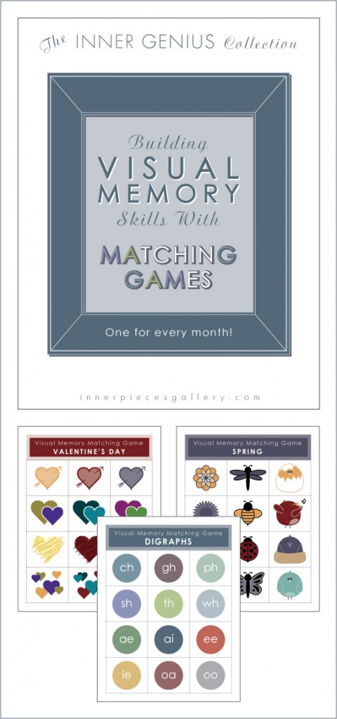 Visual Memory Matching Games for Kids