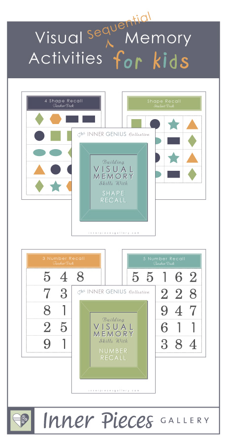 Visual Sequential Memory Activities for Kids