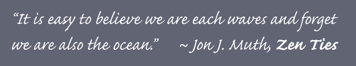 Zen Ties quote by Jon J. Muth