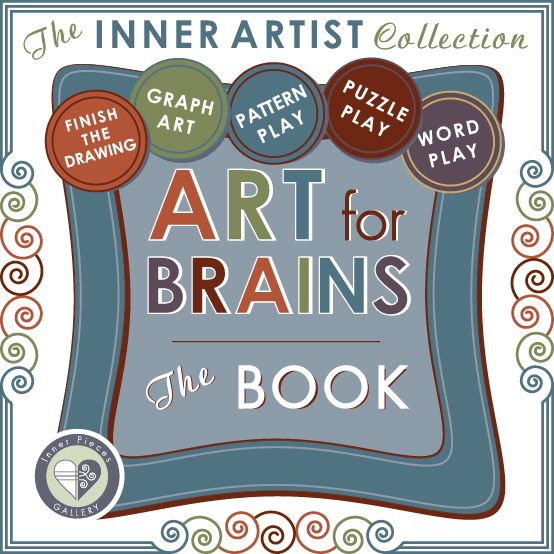 Art for Brains THE BOOK by Inner Pieces Gallery. Part of The Inner Artist Collection, helping kids strengthen cognitive skills and learn with ease and confidence.