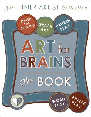Art-for-Brains, The Book combines five different cognitive enrichment activities with creative, printable fun.