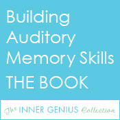 Building Auditory Memory Skills THE BOOK – To build a strong foundation for academic success children must have strong auditory memory skills. As much as we hope these skills develop naturally, sometimes they do not. Help your struggling student strengthen auditory memory and listening skills with these fun, engaging activities.