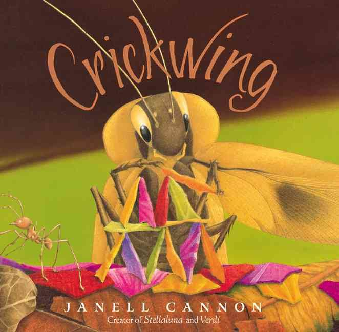 Can kids learn from and even fall in love with a cockroach? In children's book Crickwing by Janell Cannon, they can. Great way to discuss compassion vs bullying.