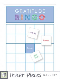 Gratitude Bingo Game DIY