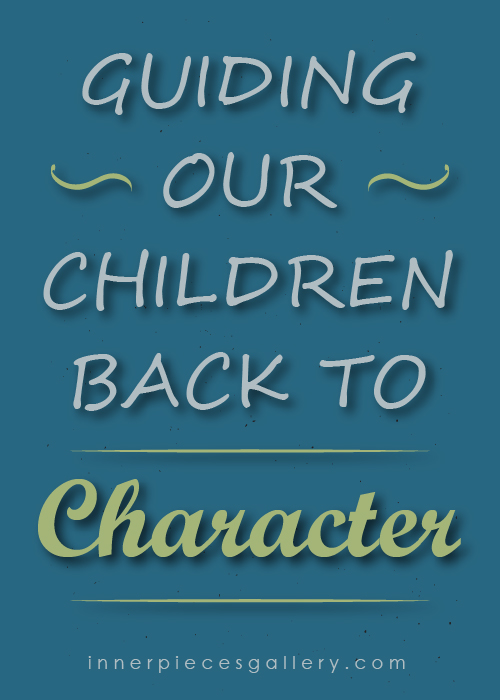 Ever worry about what your children learn, or rather unlearn, from world events? Whenever gratitude, kindness, empathy and compassion need a refresh, use this roundup of character-building resources: Guiding Our Children Back to Character. Includes printables, quotes, children's book ideas and wisdom from professionals.