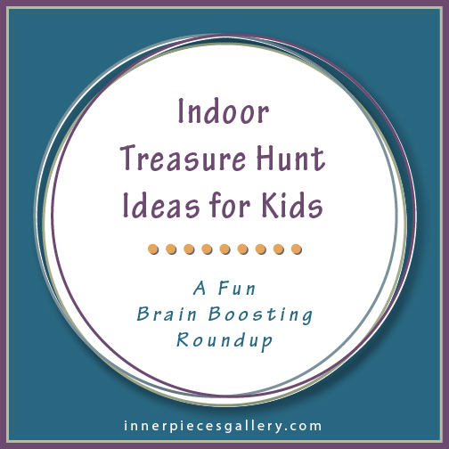 Do you have to keep the kids indoors and entertained because of summer heat or winter cold? This roundup of clever treasure hunt ideas and ready-made clues will keep young minds active and happy.