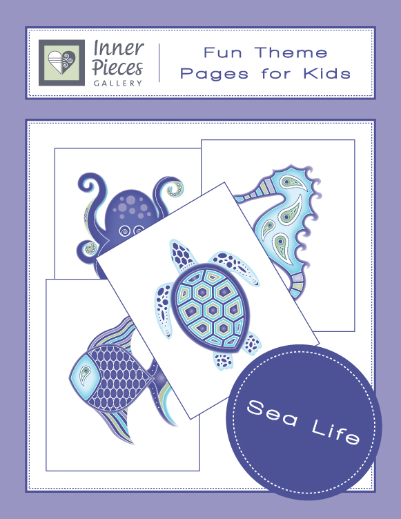 Sea Life Theme Printable Fun Pages