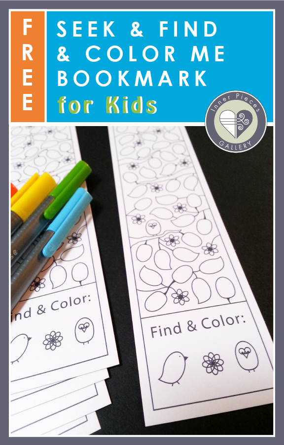 Reading is fun. Bookmarks are fun, especially ones that kids can color. But what about a bookmark that helps kids strengthen visual processing skills, too? Download this printable Hidden Picture / Seek and Find and Color Me Bookmark free.