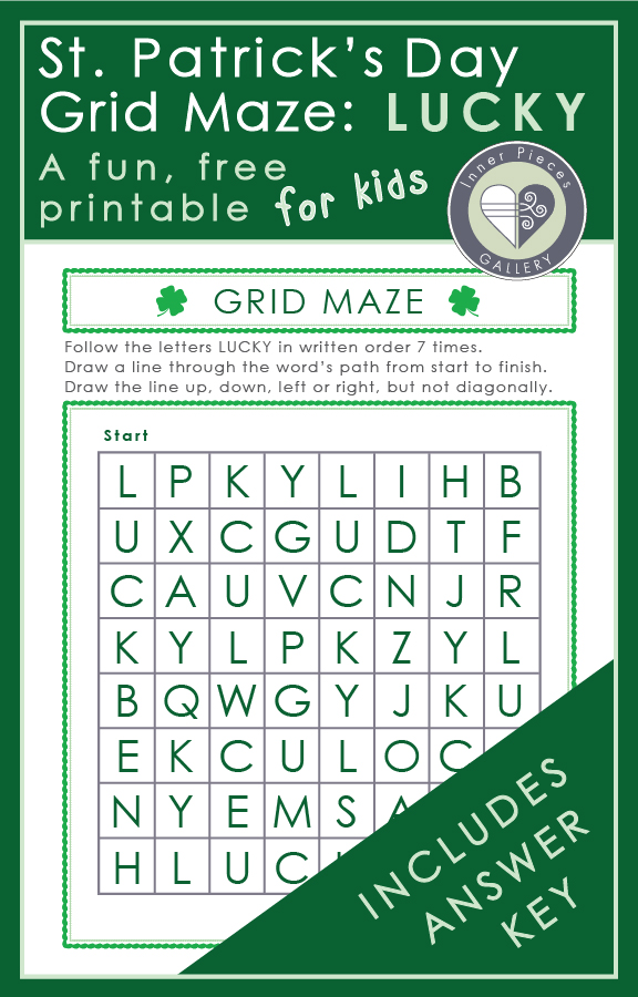Whether you care much about St. Patrick's Day or not, what a great excuse to give your child some brain boosting fun! Learn how this free St. Patty's Day printable can strengthen children's learning abilities.