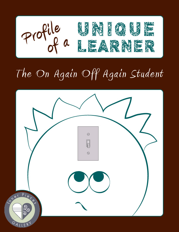 What happens when your child or student excels in class one day and struggles the next? Learn how this on again off again student turned the switch on for good.