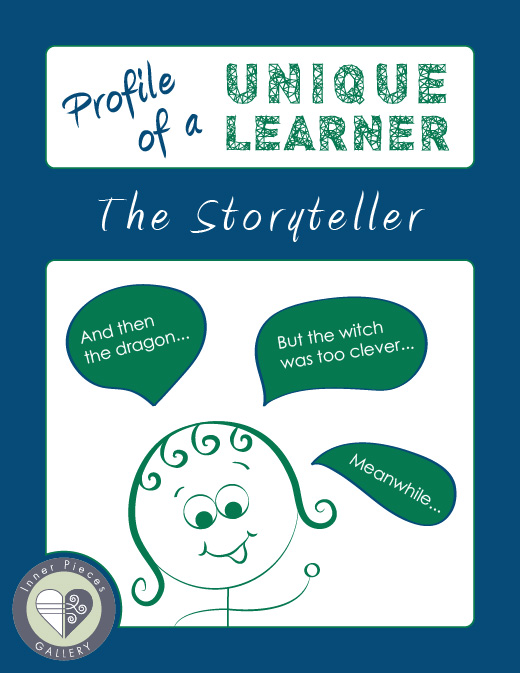 The same cognitive strengths that give this learner the gift of storytelling also makes reading a struggle.  Find out why, and how to help.