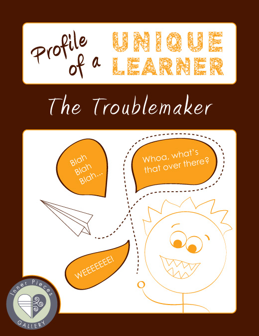 What happens when a child with learning disabilities decides to give up and become the bad kid? Find out in Profile of a Unique Learner: The Troublemaker.