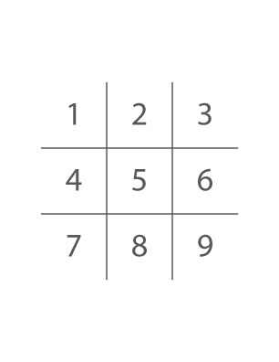 Tic-Tac-Toe-Grid-Numbers