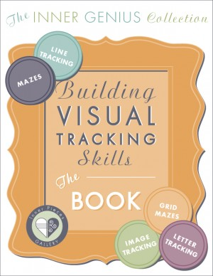 Strengthen students' visual tracking skills with fun printable activities in Building Visual Tracking Skills, The Book.