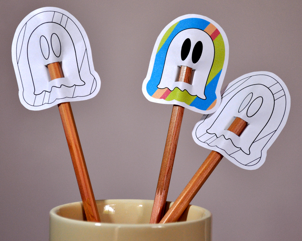 Halloween Pencil Toppers