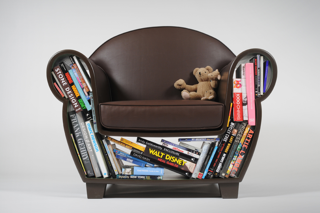 straightline hollow-chair-books